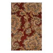 Sea Red Clay Rug