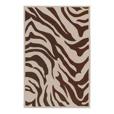 Goa Zebra Print Area Rug