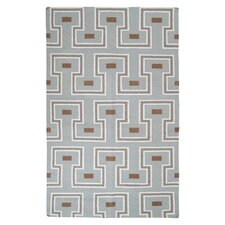 Frontier Dried Oregano Geometric Area Rug