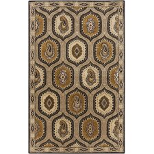Ancient Treasures Dark Khaki Rug