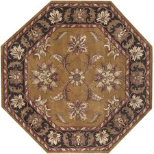 Ancient Treasures Tawny Brown Rug
