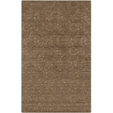 Etching Raw Umber Rug