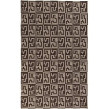 <strong>Surya</strong> Frontier Stone/ Dark Brown Rug