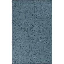 <strong>Surya</strong> Shell Pacific Blue Rug