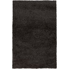 Spider Coal Black Rug