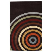 Forum Black Area Rug