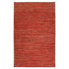 Dominican Rust Red/Blond Area Rug