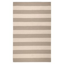 Frontier Gray Striped Area Rug