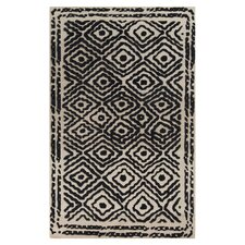 Atlas Coal Black Area Rug