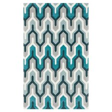 Cosmopolitan Silvered Gray/Blue Haze Rug