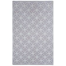 Williamsburg Lilac Linc Rope Graphic Rug