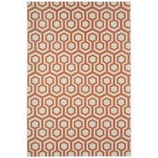 Elsinore Cinnamon Honeycombs Indoor/Outdoor Rug