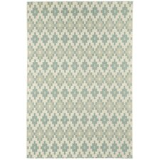 Elsinore Resort Blue Pueblo Indoor/Outdoor Rug