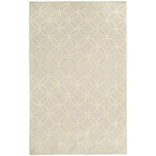 Williamsburg Flax Linc Rope Graphic Rug