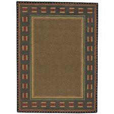 <strong>Capel Rugs</strong> Castle Rock Riverwood Brown Rug