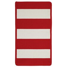Willoughby Red/White Rug