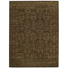 Tonal Trace Brown Rug
