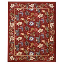 <strong>Capel Rugs</strong> English Garden Red Rug