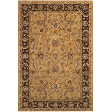 Monticello Amber/Brown Persian Rug