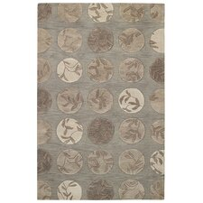 Desert Plateau Light Umber Floral Step Rug