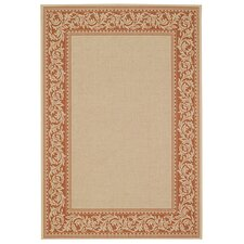 Elsinore Scroll Potters Clay Rug