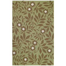 Garden Valley Green Moss Rug