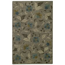 Brock Haven Bluebells Charcoal Rug
