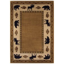 <strong>Capel Rugs</strong> Cottage Grove Medium Brown Novelty Rug