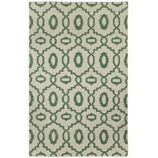 Anchor Dark Green Rug