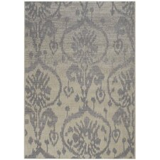 Udorn Blue Sunburst Indoor/Outdoor Rug