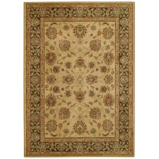 Laud Honey/Chocolate Palmette Rug