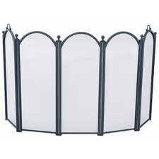 5 Panel Fireplace Screen