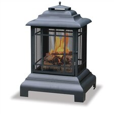 Outdoor Pagoda Fireplace