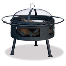 <strong>Uniflame Corporation</strong> Outdoor Fire Pit with Leaf Design