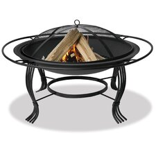 <strong>Uniflame Corporation</strong> Outdoor Firebowl with Outer Ring
