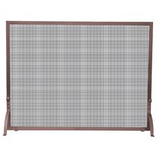 1 Panel Fireplace Screen