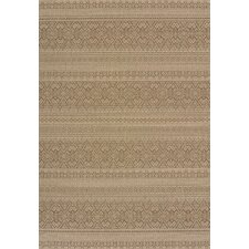 Solarium Brown Alfresco Indoor/Outdoor Rug