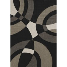 Townshend Black Smash Rug