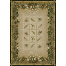 Genesis Palmetto Natural Novelty Rug