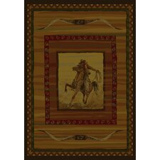 Genesis Rawhide Lodge Novelty Rug