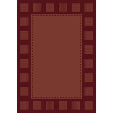 Manhattan Long Island Burgundy Rug
