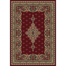 Manhattan Queens Burgundy Rug