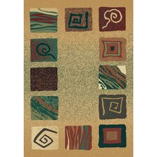 Manhattan Southampton Light Green Multi Rug
