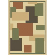 Manhattan Bryant Light Green/Tan Rug