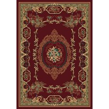 Manhattan Lexington Burgundy Rug