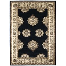 <strong>United Weavers of America</strong> Contours Zara Onyx Rug
