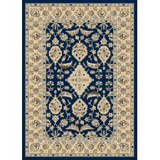 <strong>Dynamic Rugs</strong> Nain Navy Persian Rug
