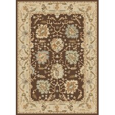<strong>Dynamic Rugs</strong> Nain Dark Brown Persian Rug