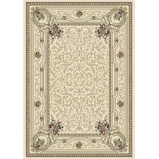 Ancient Garden Ivory Persian Rug