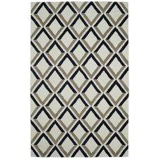Palace Ivory Geometric Rug